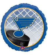 "18"" NHL St Louis Blues Mylar Balloon"