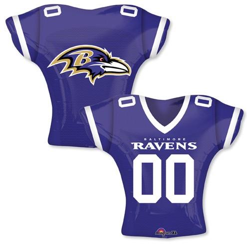 """24"""" Balloon Baltimore Ravens Jersey"""