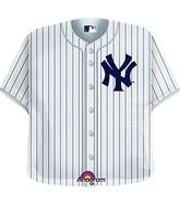 "24"" MLB New York Yankees Jersey Balloon"
