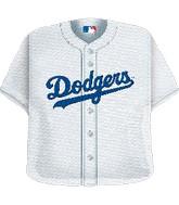 "24"" MLB Los Angeles Dodgers Jersey Balloon"