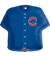 """24"""" MLB Chicago Cubs Jersey Balloon"""