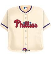 """24"""" MLB Philadelphia Phillies Jersey Balloon"""