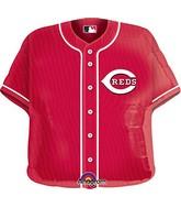 "24"" MLB Cincinnati Reds Jersey Balloon"