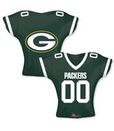 """24"""" Balloon Green Bay Packers Jersey"""