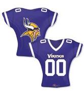 """24"""" Balloon Minnesota Vikings Jersey"""