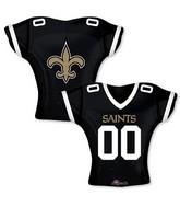 """24"""" Balloon New Orleans Saints Jersey"""
