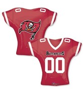"""24"""" Balloon Tampa Bay Buccaneers Jersey"""
