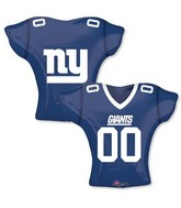 "24"" Balloon New York Giants Jersey"