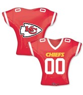 "24"" Balloon Kansas City Chiefs Jersey"