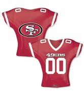 "24"" Balloon San Francisco 49ers Jersey"