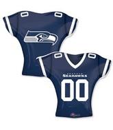 """24"""" Balloon Seattle Seahawks Jersey"""