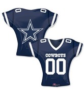 """24"""" Balloon Dallas Cowboys Jersey"""