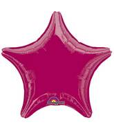"""18"""" Burgundy Star"""