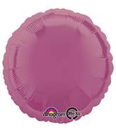 "18"" Metallic Lavender Circle Mylar Balloon"