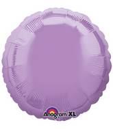 """18"""" Pearl Lavender Decorator Circle"""