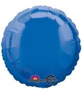 "18"" Dark Blue Decorator Circle"