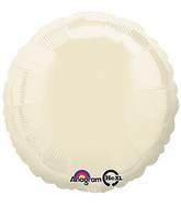 "18"" Iridescent Pearl Ivory Decorator Circle"