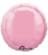 "18"" Iridescent Pearl Pink Decorator Circle"