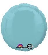 "18"" Iridescent Pearl Lite Blue Decorator Circle"