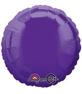 """18"""" Quartz Purple Decorator Circle"""