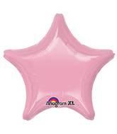 "18"" Iridescent Pearl Pink Decorator Star"