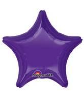 """18"""" Quartz Purple Decorator Star"""