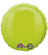 """18"""" Kiwi Green Decorator Circle"""