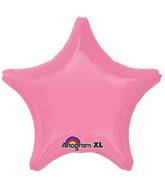 "18"" Bright Bubble Gum Pink Decorator Star"