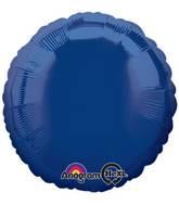 "18"" Navy Blue Decorator Circle"