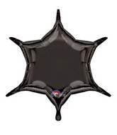 "22"" Black 6-Point Star"