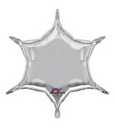 "22"" Silver 6-Point Star"