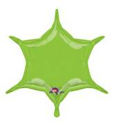"22"" Lime 6-Point Star"