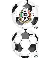 "16"" Mexican National Soccer Team Balloon"