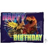 """16"""" Jurassic World HBD Balloon"""