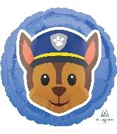 """18"""" Paw Patrol Chase Emoji Balloon"""