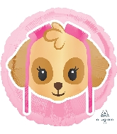 "18"" Paw Patrol Skye Emoji Balloon"