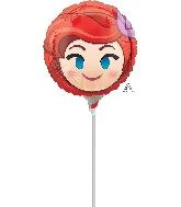 "9"" Ariel Emoji Balloon"