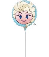 """9"""" Frozen Elsa Emoji Balloon"""
