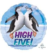 "18"" Avanti Penguins High Five Balloon"