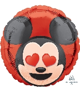 "18"" Mickey Mouse Emoji Balloon"