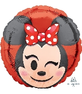 "18"" Minnie Mouse Emoji Balloon"