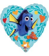 "18"" Finding Dory Love Balloon"