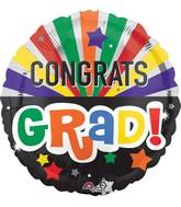 """28"""" Jumbo Congrats Grad Celebration Balloon"""