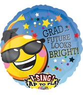 "28"" Singing Balloon Gotta Wear Shades Grad Balloon"