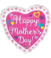 """28"""" Jumbo SuperShape Happy Mother's Day Ruffle"""