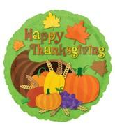 "18"" Thanksgiving Cornucopia Balloon"