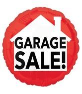 """18"""" Garage Sale Balloon"""