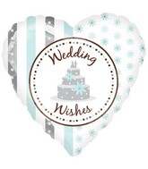 "18"" Wedding Wishes Balloon"