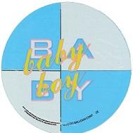 "4"" Baby Boy White & Blue Airfill Mylar Balloon"