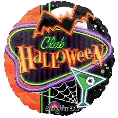 18'' Club Halloween Balloon